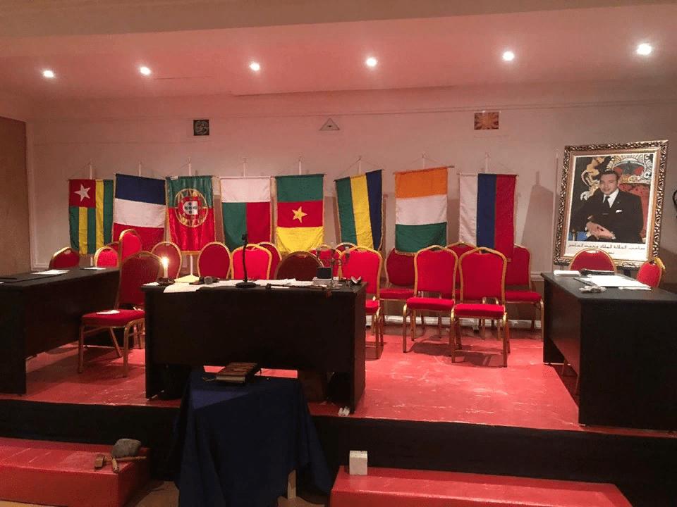 Торжественные мероприятия Объединенной Великой Ложи Марокко