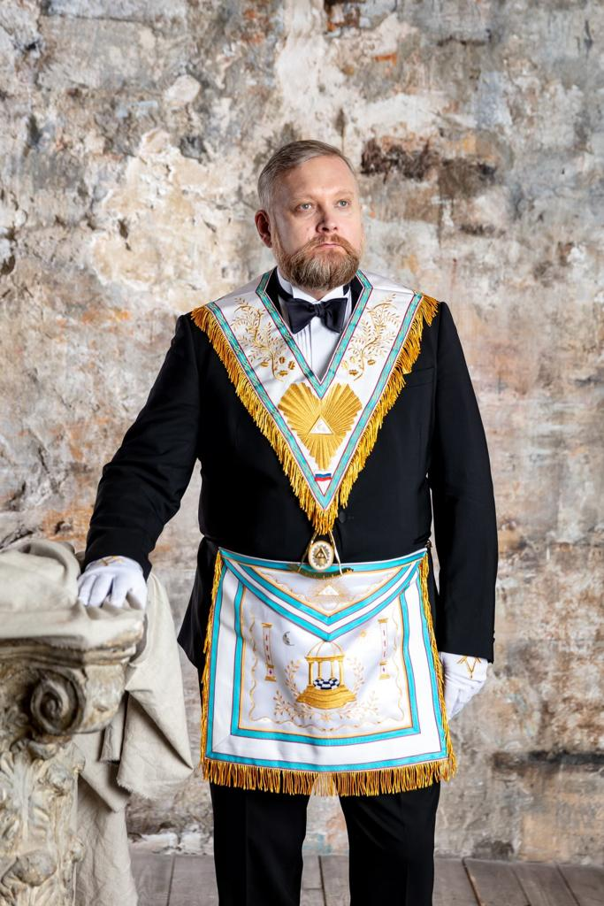 The Great Master of the Grand Lodge Vladimir Chekalkin