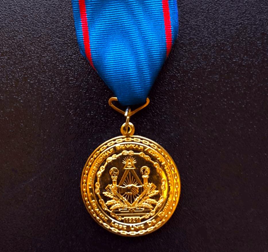 Медаль 100-летие русского масонства